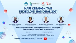 Peringatan Hakteknas 2021, Wujudkan Optimisme dan Bangga Produk Buatan Indonesia