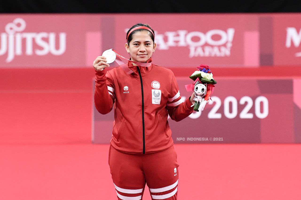 Profil dan Prestasi Leani Ratri Oktila, Peraih Tiga Medali di Paralimpiade 2020